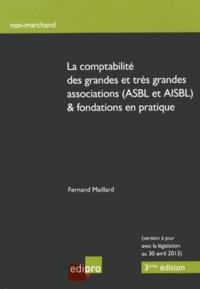 Fernand Maillard - La comptabilité des grandes et très grandes associations (ASBL et AISBL) & fondations en pratique.