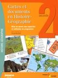 Fernand Marchitto - Cartes et documents en Histoire-Géographie 2e - Mise en oeuvre des capacités et méthodes du programme. 1 Cédérom