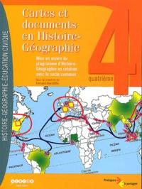 Fernand Marchitto - Cartes et documents en histoire-géographie 4e - Mise en oeuvre du programme d'histoire-géographie en relation avec socle commun. 1 Cédérom