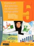 Fernand Marchitto - Cartes et documents en histoire-géographie 5e - Mise en oeuvre du programme d'histoire-géographie en relation avec le socle commun.