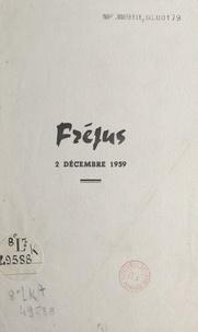 Fernand Mory - Fréjus, 2 décembre 1959.