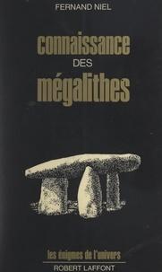 Fernand Niel et Noël Le Boyer - Connaissance des mégalithes.