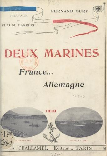 Deux marines. France et Allemagne