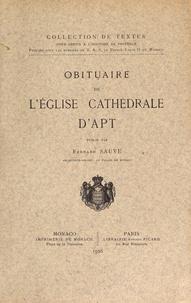 Obituaire de léglise cathédrale dApt.pdf