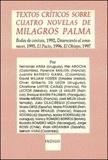 Fernando Aínsa et Florence Baillon - Textos criticos sobre cuatro novelas de Milagros Palma.