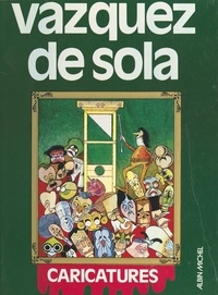 Fernando Arrabal et Carlos Castilla del Pino - Caricatures.
