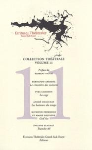 Fernando Arrabal et Yves Carchon - Le cimetière des voitures ; La cage ; Les batteurs du temps ; God'Ass ; Tranche 85.