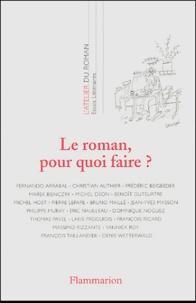 Fernando Arrabal et Christian Authier - Le roman, pour quoi faire ?.