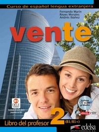 Fernando Marin - Vente - Libro del profesor 2. 1 CD audio