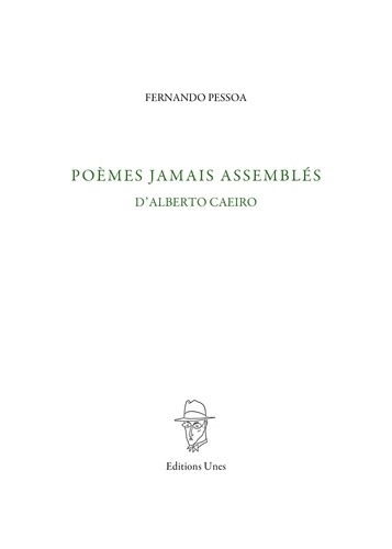 Poèmes jamais assemblés d'Alberto Caeiro