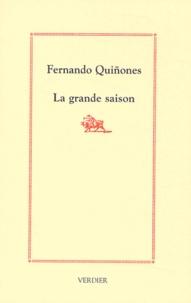 Fernando Quinones - La grande saison.