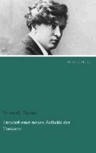 Ferruccio Busoni - Entwurf einer neuen Ästhetik der Tonkunst.