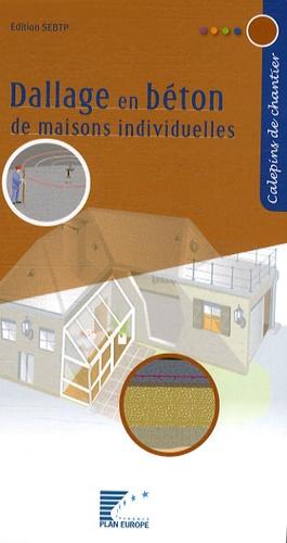 FFB - Dallage en béton de maisons individuelles.