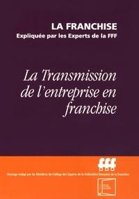 Deedr.fr La transmission de l'entreprise en franchise Image