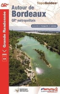 FFRandonnée - Autour de Bordeaux - GR métropolitain accessible en transports en commun.