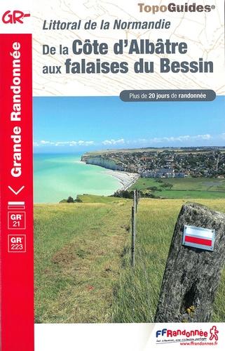De La Côte D'Albâtre aux falaises du Bessin. Littoral de la Normandie. Plus de 20 jours de randonnée