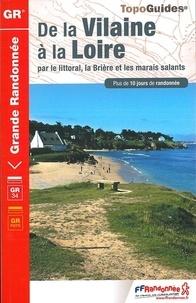 Ebooks manuels télécharger pdf De la Vilaine à la Loire par le littoral, la Brière et les marais salants  9782751410147 par FFRandonnée en francais