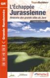 FFRandonnée - L'echapée jurassienne - De Dole à Saint Claude via Les Rousses.