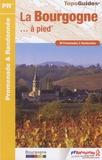 FFRandonnée - La Bourgogne à pied - 40 promenades & randonnées.