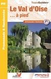 FFRandonnée - Le Val d'Oise à pied - 39 promenades & randonnées.