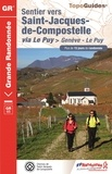 FFRandonnée - Sentier vers Saint-Jacques-de-Compostelle via Le Puy-en-Velay > Genève-Le Puy.