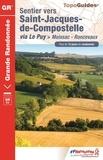 FFRandonnée - Sentier vers Saint-Jacques-de-Compostelle via Le Puy > Moissac-Roncevaux.