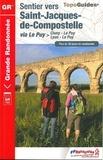 FFRandonnée - Sentier vers Saint-Jacques-de-Compostelle - Via Le Puy, Cluny-Le Puy/Lyon-Le Puy.