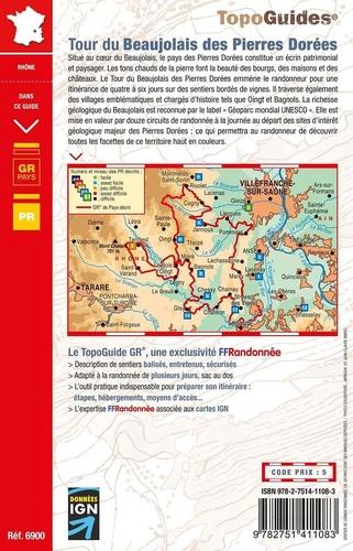 Tour du Beaujolais des Pierres Dorées. A travers le Géoparc mondial UNESCO. Plus de 15 jours de randonnée