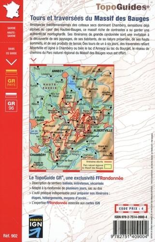 Tours et traversée du Massif des Bauges. Parc naturel régional du Massif des Bauges
