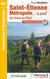 FFRP - Saint-Etienne métropole... à pied - 32 promenades & randonnées.