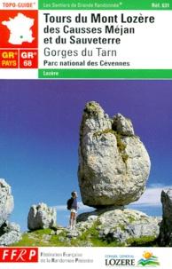 FFRP - Tours du Mont Lozère, des Causses Méjan et  du Sauveterre.