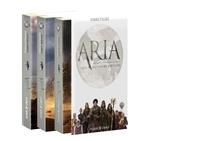 FibreTigre - Aria - Voyage en Osmanlie  : Coffret en 3 volumes - Tome 1 : Sombres ressacs ; Tome 2 : Terres ardentes ; Tome 3 : Radiance céleste.