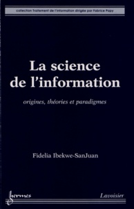 Fidelia Ibekwe-SanJuan - La science de l'information.