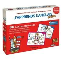 Filf et Stéphanie Eleaume Lachaud - J'apprends l'anglais autrement - Niveau débutant. 80 cartes mentales pour apprendre facilement le vocabulaire.