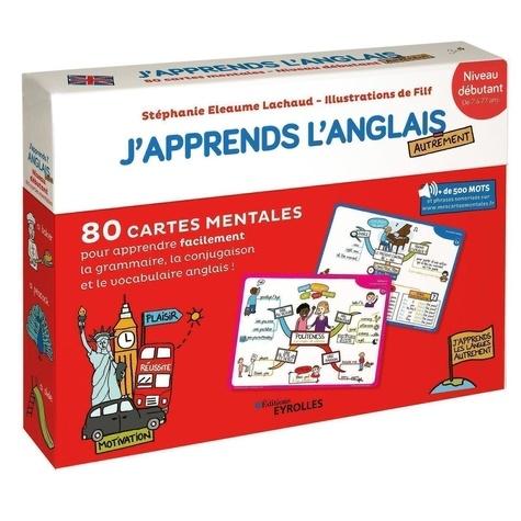 J Apprends L Anglais Autrement Niveau Debutant 80 Cartes Mentales Pour Apprendre Facilement Le Vocabulaire Grand Format