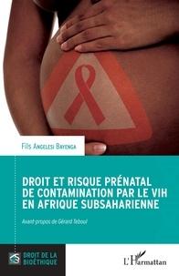 Fils Angelesi Bayenga - Droit et risque prénatal de contamination par le VIH en Afrique subsaharienne.