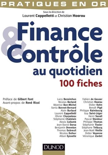 Laurent Cappelletti - Finance et Contrôle au quotidien - 100 fiches.