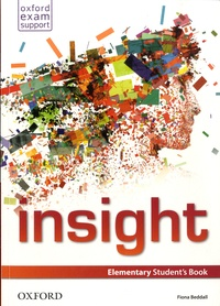 Fiona Beddall - Insight - Elementary Student's Book.