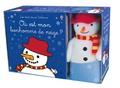 Fiona Watt et Rachel Wells - Coffret où est mon bonhomme de neige ? - Avec un livre et une peluche.