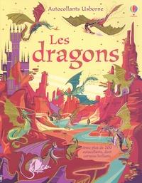 Fiona Watt et Camilla Garofano - Les dragons - Avec plus de 200 autocollants dont certains brillants.