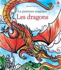 Fiona Watt - Les dragons - Avec un pinceau.