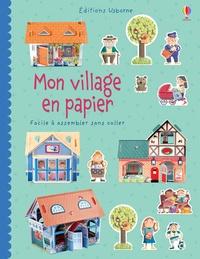 Mon village en papier - Facile à assembler sans coller.pdf