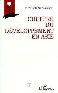 Firouzeh Nahavandi - Culture du développement en Asie.