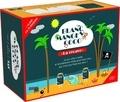"""First - Blanc manger coco - """"La recave"""". Le jeu ultra simple et terriblement drôle pour tous ceux qui n'ont pas froid aux yeux ! Contient : une notice, 41 cartes-questions et 159 cartes-réponses."""