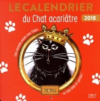 First - Calendrier du chat acariâtre.