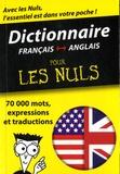 First - Dictionnaire Français-Anglais pour les nuls.