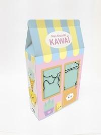 First - Mes biscuits kawaï - Avec 1 livre + 4 emporte-pièces.