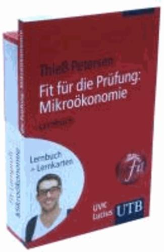 Fit-Lernprofi Mikroökonomie - Lernbuch mit Lernkarten.