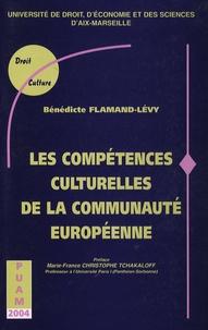 Flamand - Les compétences culturelles de la communauté européenne.