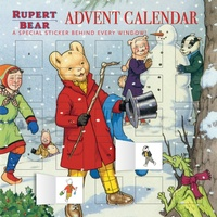Flame tree publishing - Rupert Bear - Advent Calendar.